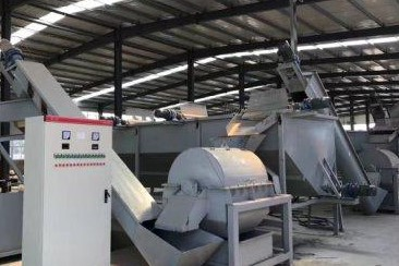 HDPE recycling line